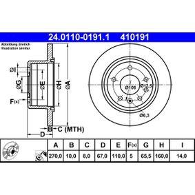 Bremsscheibe Art. Nr. 24.0110-0191.1 120,00€