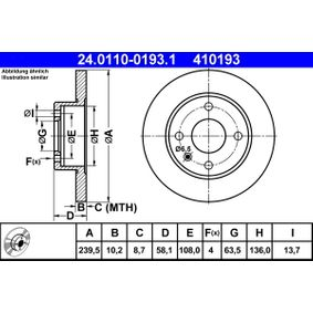 Bremsscheibe Art. Nr. 24.0110-0193.1 120,00€