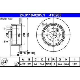 Bremsscheibe Art. Nr. 24.0110-0205.1 120,00€
