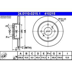 Bremsscheibe Art. Nr. 24.0110-0215.1 120,00€