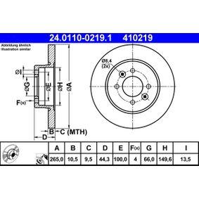 Bremsscheibe Art. Nr. 24.0110-0219.1 89,00€