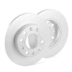 ATE Bremsscheibe 24.0110-0261.1 für AUDI A4 (8E2, B6) 1.9 TDI ab Baujahr 11.2000, 130 PS