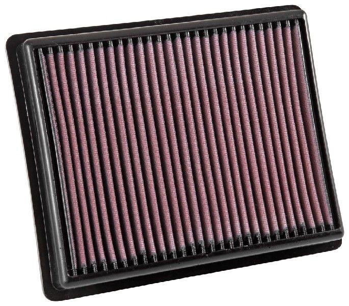 K&N Filters  33-3054 Filtro de aire Long.: 257mm, Ancho: 210mm, Altura: 38mm, Long.: 257mm