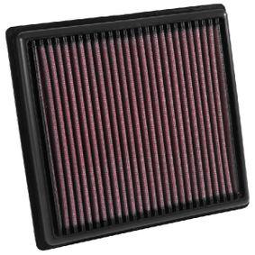 K&N Filters Luftfiltereinsatz Langzeitfilter