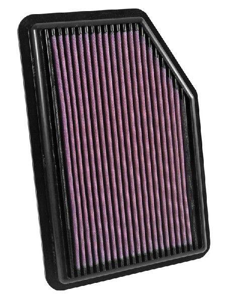 K&N Filters  33-5031 Luftfilter Länge: 278mm, Breite: 191mm, Höhe: 25mm, Länge: 278mm