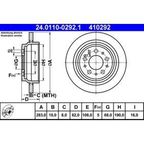 Bremsscheibe Art. Nr. 24.0110-0292.1 120,00€