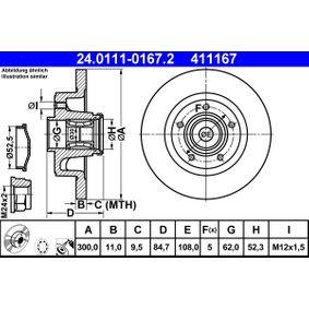 Bremsscheibe Art. Nr. 24.0111-0167.2 120,00€