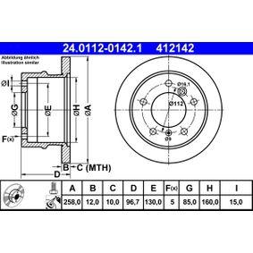 Bremsscheibe Art. Nr. 24.0112-0142.1 120,00€