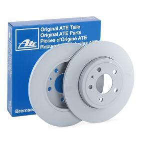 ATE Bremsscheibe 24.0112-0166.1 für AUDI A4 Avant (8E5, B6) 3.0 quattro ab Baujahr 09.2001, 220 PS