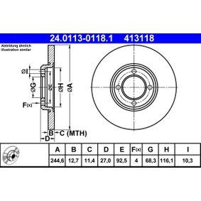 Bremsscheibe Art. Nr. 24.0113-0118.1 120,00€