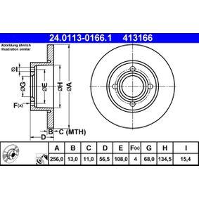 Bremsscheibe Art. Nr. 24.0113-0166.1 120,00€