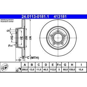 Bremsscheibe Art. Nr. 24.0113-0181.1 120,00€