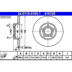 Bremsscheibe Art. Nr. 24.0115-0105.1 120,00€