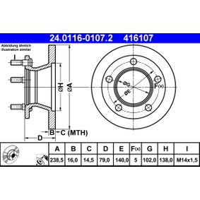 Bremsscheibe Art. Nr. 24.0116-0107.2 120,00€
