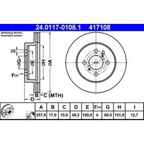 Bremsscheibe Art. Nr. 24.0117-0108.1 120,00€