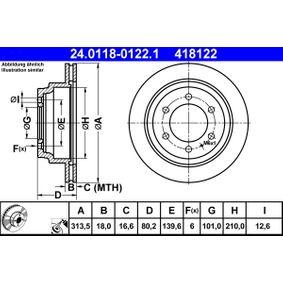 Bremsscheibe Art. Nr. 24.0118-0122.1 120,00€
