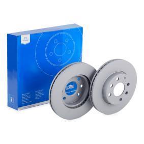Steuergehäusedichtung für OPEL CORSA C (F08, F68) 1.2 75 PS ab Baujahr 09.2000 ATE Bremsscheibe (24.0120-0174.1) für