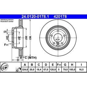 Bremsscheibe Art. Nr. 24.0120-0178.1 120,00€