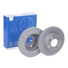 ATE Bremsscheibe 24.0122-0108.1 für AUDI COUPE (89, 8B) 2.3 quattro ab Baujahr 05.1990, 134 PS