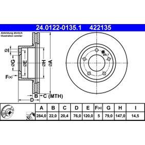 Bremsscheibe Art. Nr. 24.0122-0135.1 120,00€