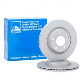 ATE Bremsscheibe 24.0122-0152.1 für AUDI A4 Avant (8E5, B6) 3.0 quattro ab Baujahr 09.2001, 220 PS