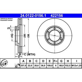 Bremsscheibe Art. Nr. 24.0122-0156.1 120,00€