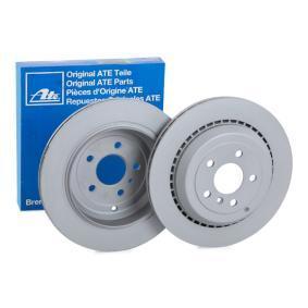 Спирачен диск дебелина на спирачния диск: 22,0мм, брой на дупките: 5, Ø: 330,0мм с ОЕМ-номер A1644231312