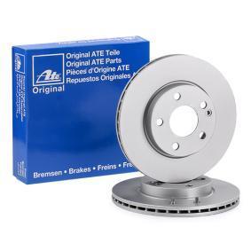 Discos del Cigüeñal MERCEDES-BENZ CLASE B (W245) B 160 (245.231) de Año 04.2009 95 CV: Disco de freno (24.0122-0232.1) para de ATE
