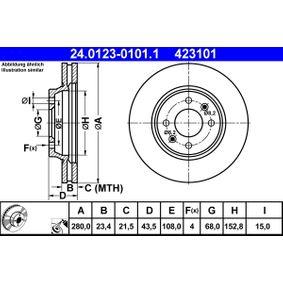 Bremsscheibe Art. Nr. 24.0123-0101.1 120,00€