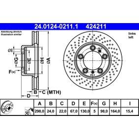 Bremsscheibe Art. Nr. 24.0124-0211.1 120,00€