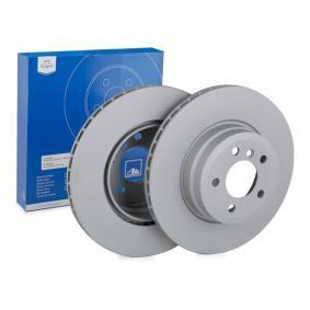 Bremsscheibe Bremsscheibendicke: 24,0mm, Lochanzahl: 5, Ø: 345,0mm mit OEM-Nummer 424216