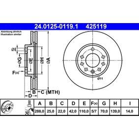 Bremsscheibe Art. Nr. 24.0125-0119.1 120,00€