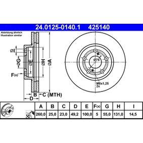 Bremsscheibe Art. Nr. 24.0125-0140.1 120,00€