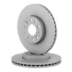Bremsscheibe Bremsscheibendicke: 25,0mm, Lochanzahl: 5, Ø: 288,0mm mit OEM-Nummer 5C0615301A