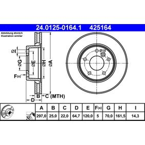 Bremsscheibe Art. Nr. 24.0125-0164.1 120,00€