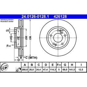 Bremsscheibe Art. Nr. 24.0126-0128.1 120,00€