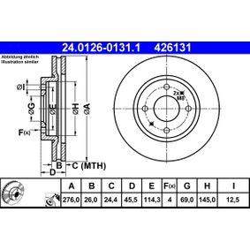 Bremsscheibe Art. Nr. 24.0126-0131.1 120,00€
