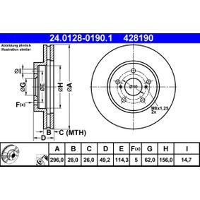 Bremsscheibe Art. Nr. 24.0128-0190.1 120,00€