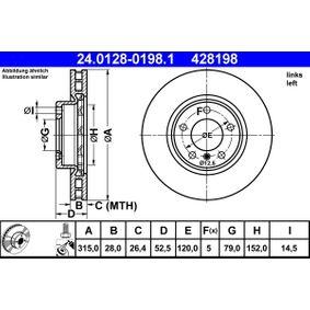 Bremsscheibe Art. Nr. 24.0128-0198.1 120,00€
