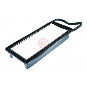 Air Filter Length: 331mm, Width: 107mm, Height: 40mm with OEM Number 15400PLMA02