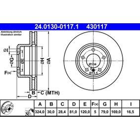 Bremsscheibe Art. Nr. 24.0130-0117.1 120,00€