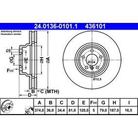 Bremsscheibe Art. Nr. 24.0136-0101.1 120,00€