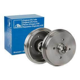 Bremstrommel Br.Tr.Durchmesser außen: 211,5mm mit OEM-Nummer 191 501 615