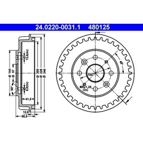 Bremstrommel Art. Nr. 24.0220-0031.1 120,00€