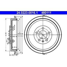 Bremstrommel Art. Nr. 24.0223-0016.1 120,00€