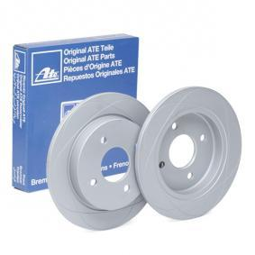 Brake Disc Brake Disc Thickness: 10,2mm, Num. of holes: 4, Ø: 253,0mm with OEM Number 1 51 4237