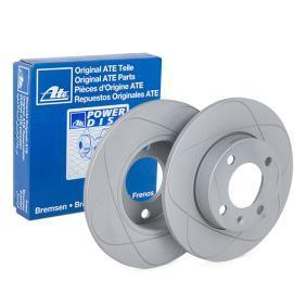 Bremsscheibe Bremsscheibendicke: 10,0mm, Lochanzahl: 4, Ø: 239,0mm mit OEM-Nummer 811 615 301B