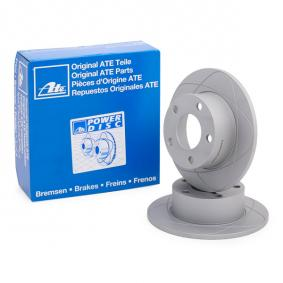 ATE Bremsscheibe 24.0310-0201.1 für AUDI A6 (4B2, C5) 2.4 ab Baujahr 07.1998, 136 PS