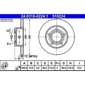Bremsscheibe Art. Nr. 24.0310-0224.1 120,00€