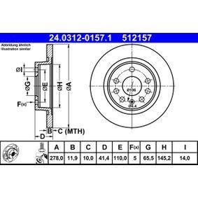 Bremsscheibe Art. Nr. 24.0312-0157.1 120,00€
